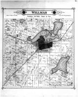 Willmar Township, Foot Lake, Kandiyohi County 1886